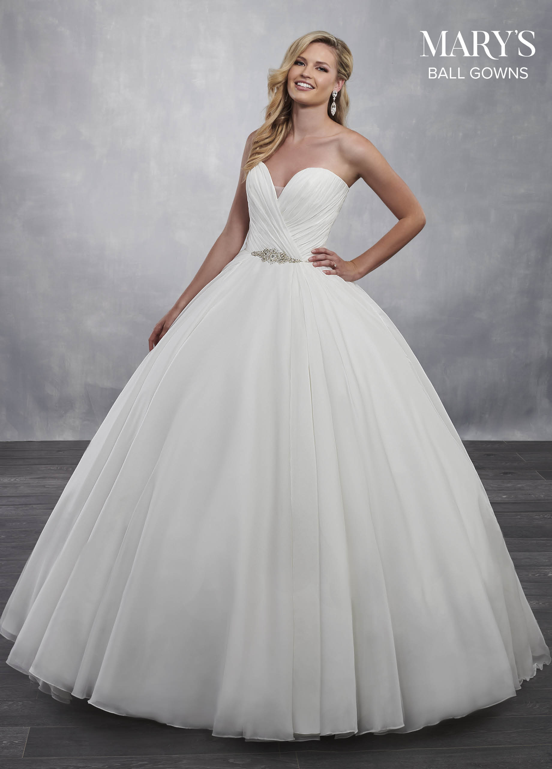 Bridal Ball Gowns   Ball Gowns   Style - MB6034