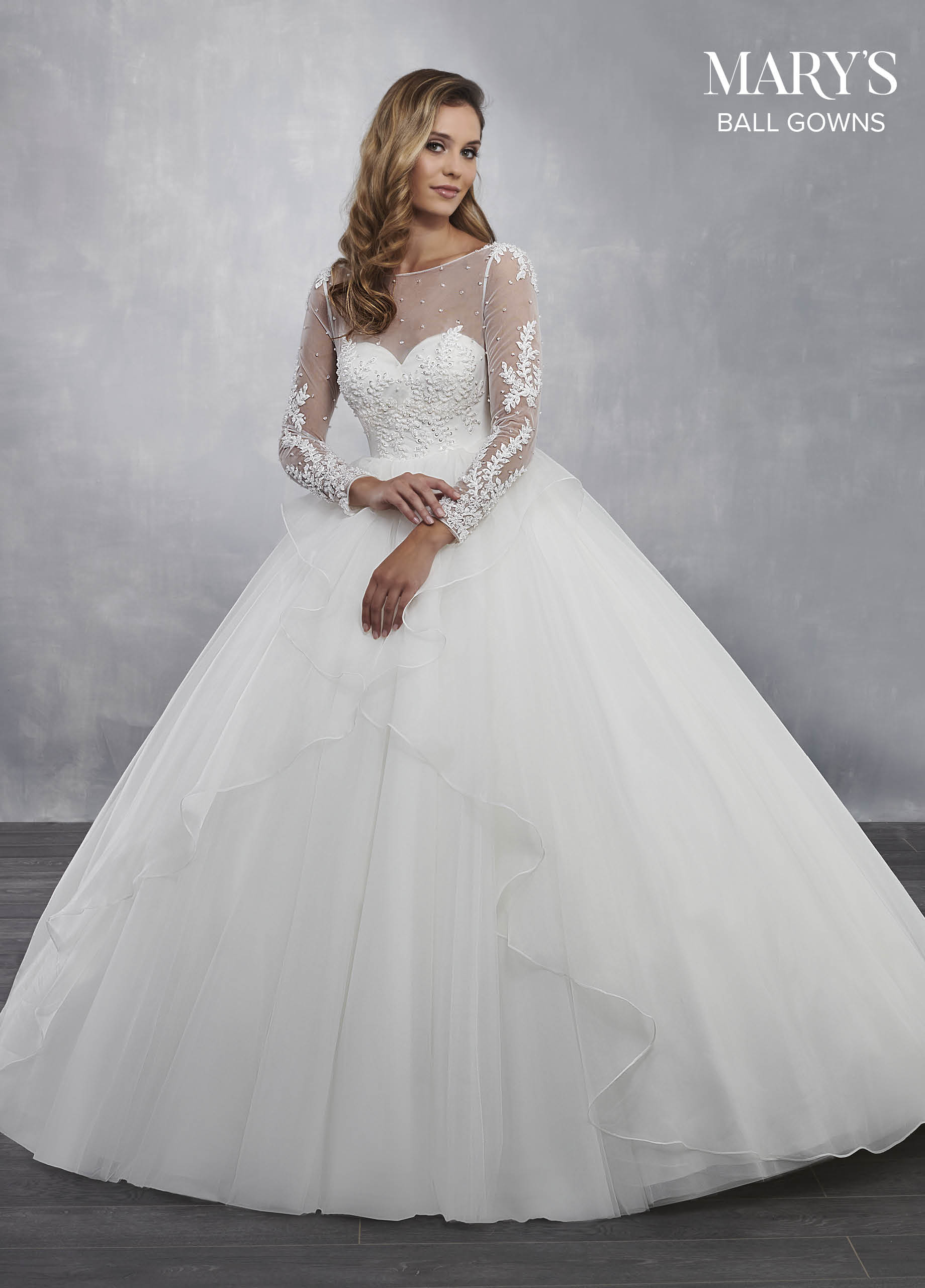 Bridal Ball Gowns | Ball Gowns | Style - MB6041