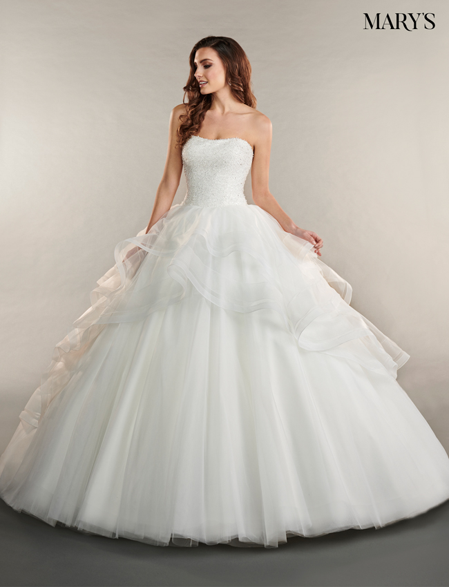 Color Bridal Ball Gowns - Style - MB6053