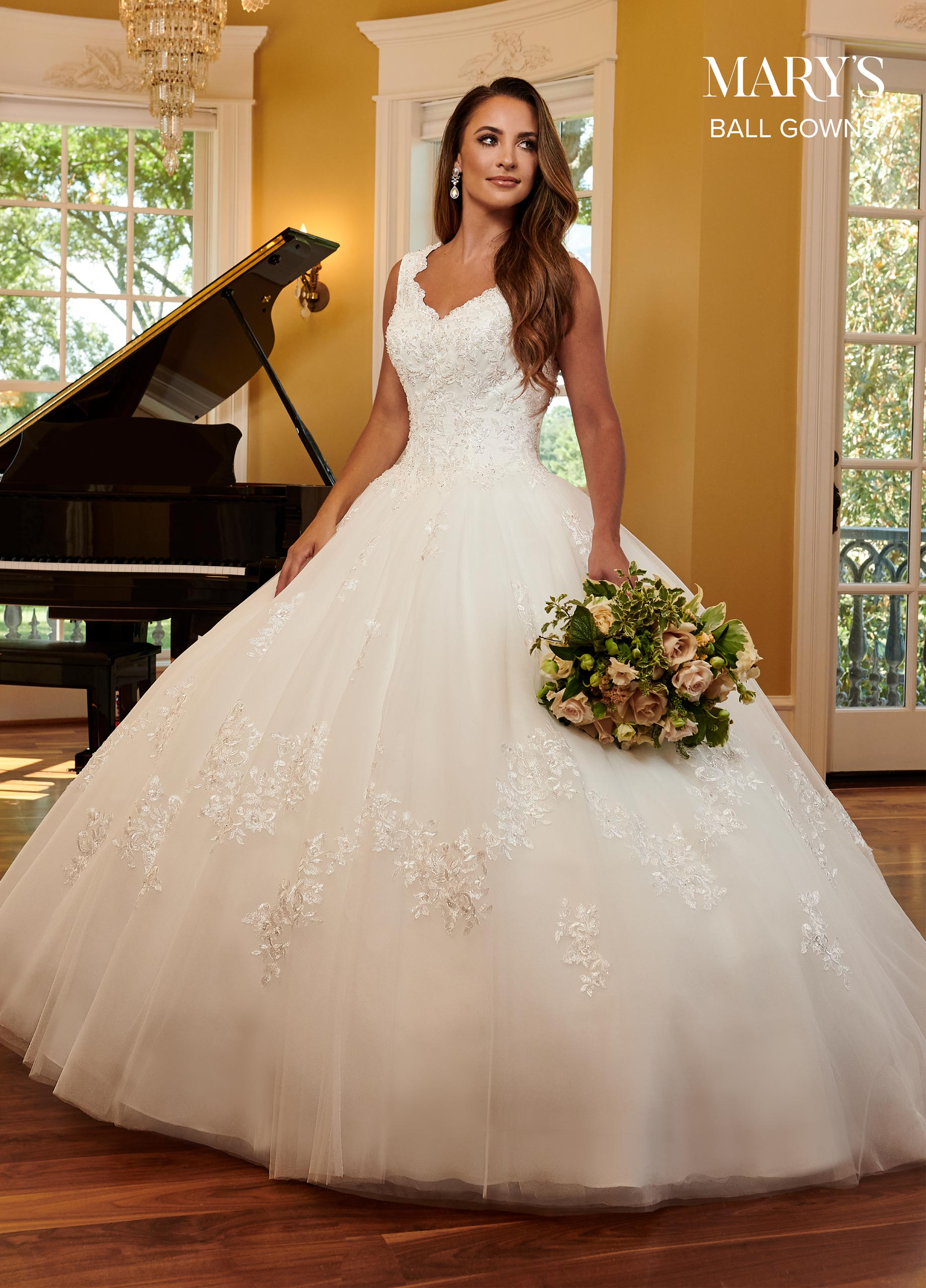 Bridal Ball Gowns | Ball Gowns | Style - MB6061