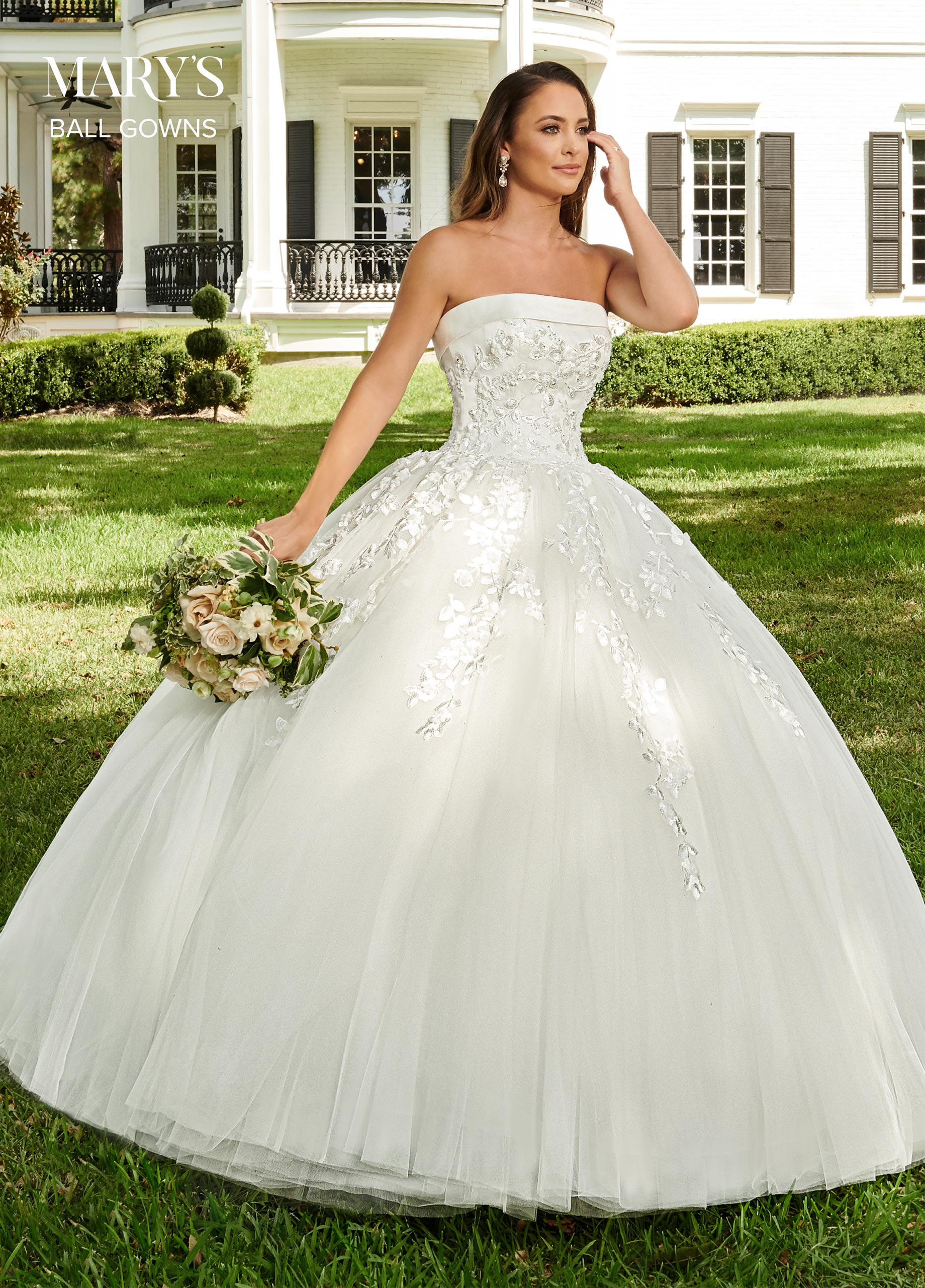 Bridal Ball Gowns | Ball Gowns | Style - MB6062