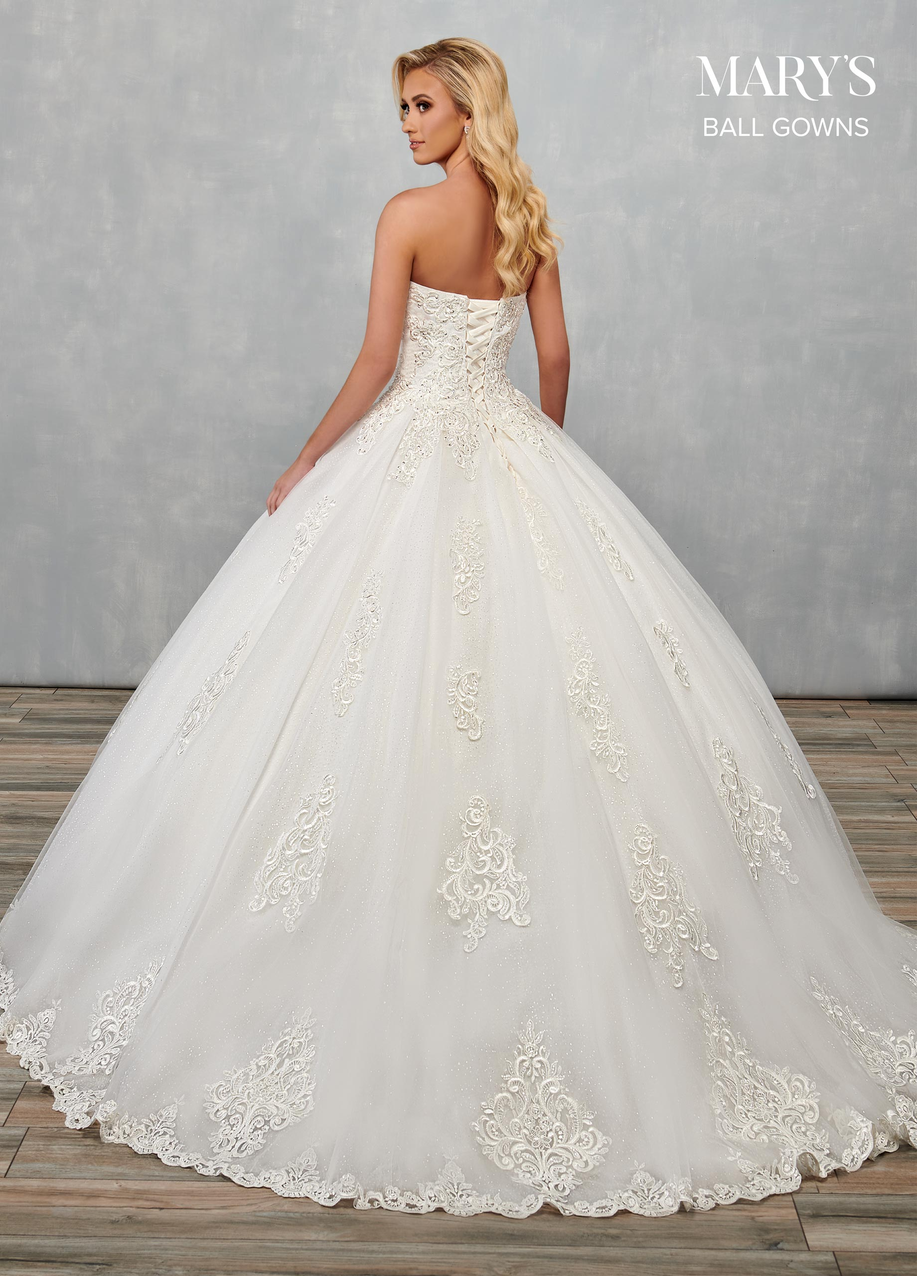 Bridal Ball Gowns   Ball Gowns   Style - MB6073