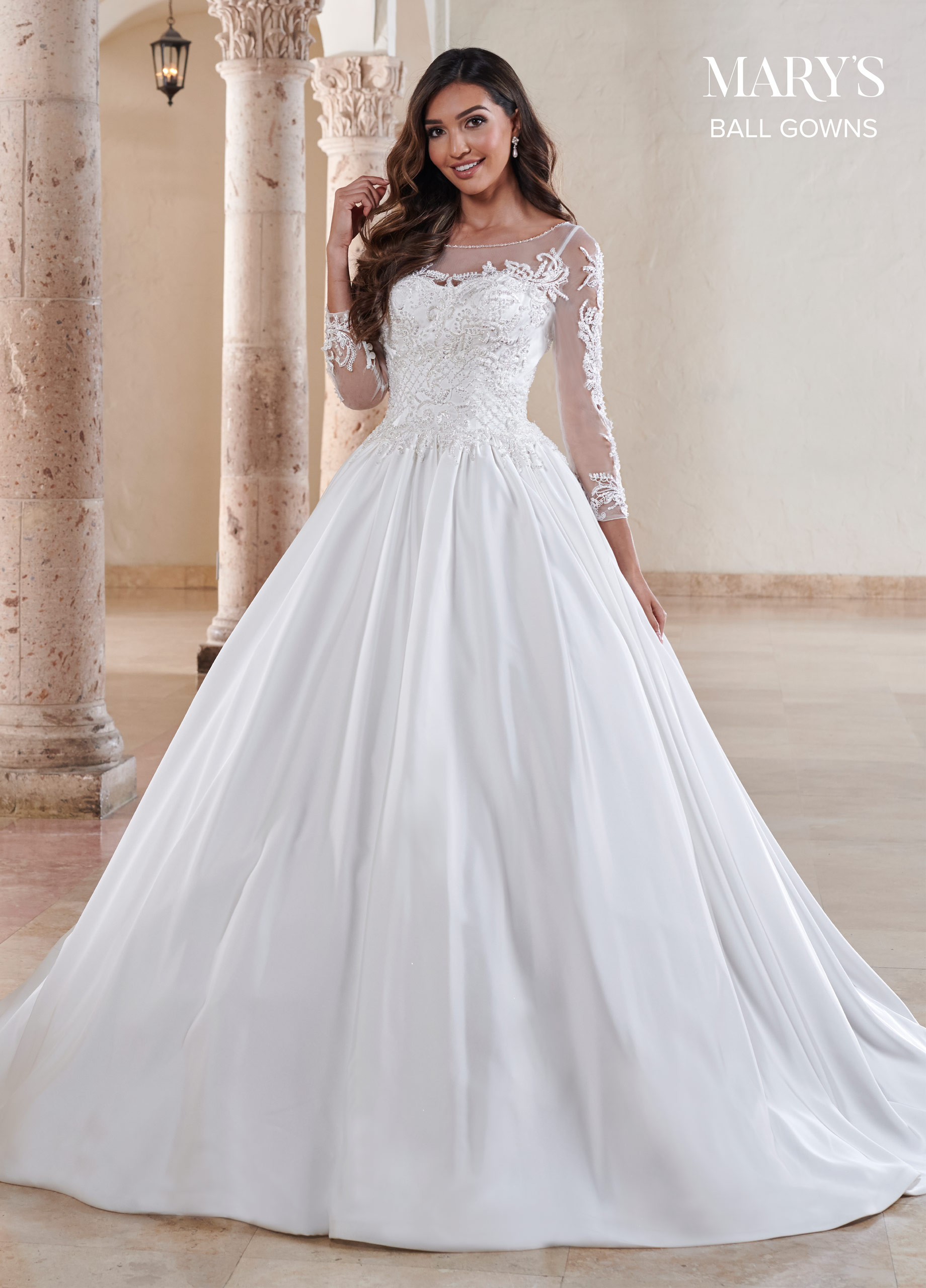 Bridal Ball Gowns | Ball Gowns | Style - MB6081