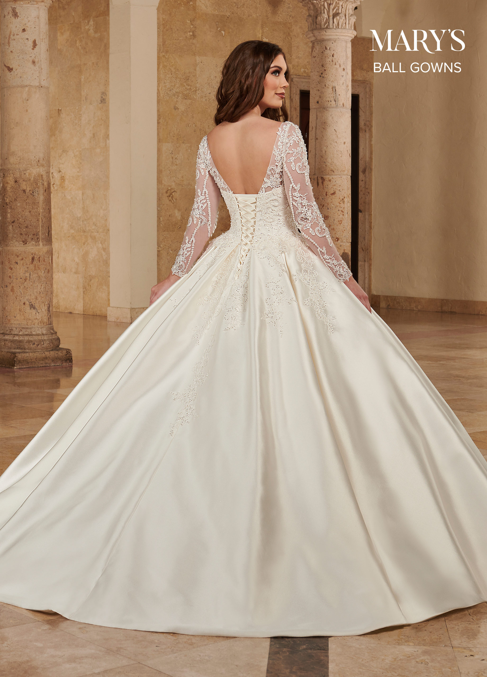 Bridal Ball Gowns   Ball Gowns   Style - MB6086
