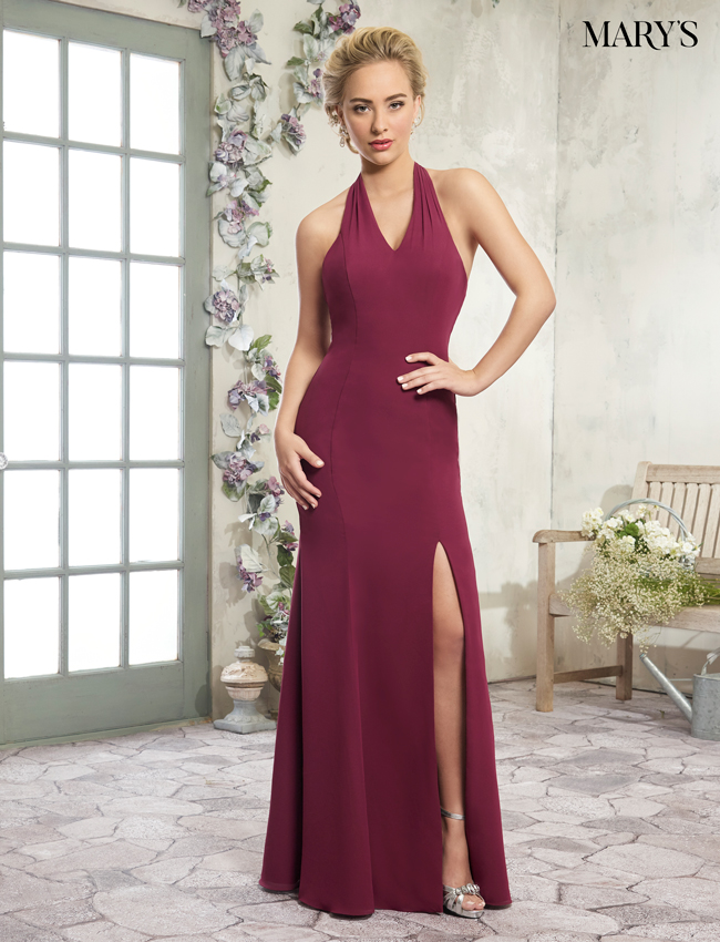 Blush Color Amalia Bridesmaid Dresses - Style - MB7003