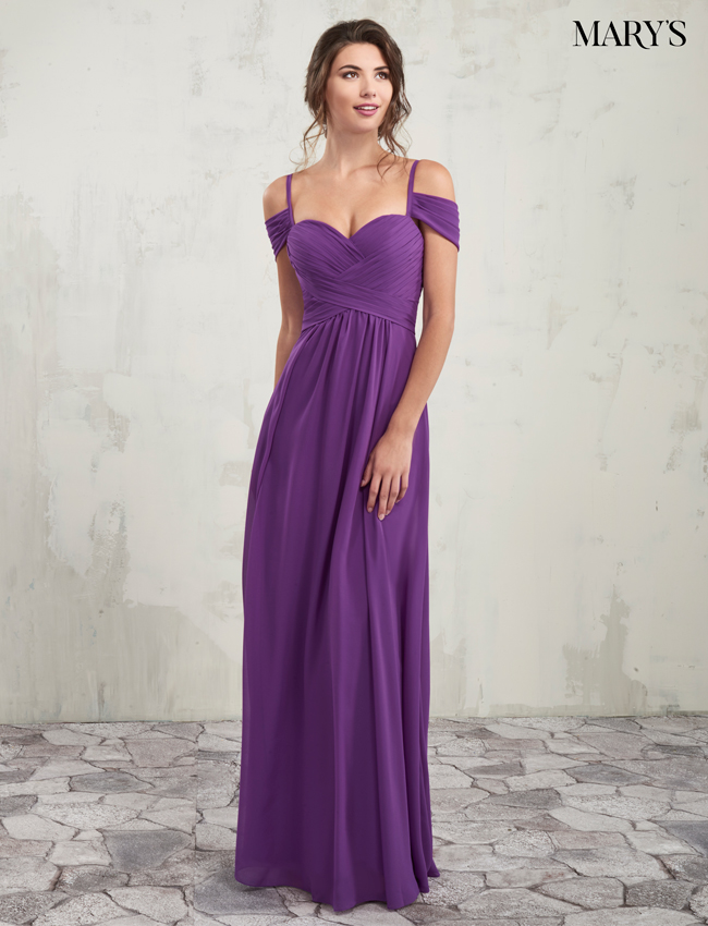 Blush Color Amalia Bridesmaid Dresses - Style - MB7004