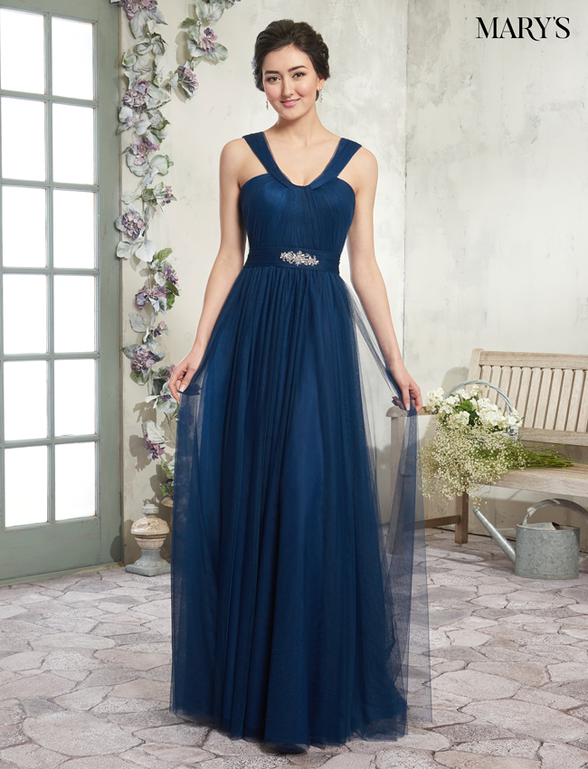 Blush Color Amalia Bridesmaid Dresses - Style - MB7011