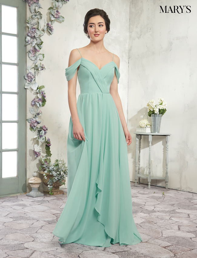 Blush Color Amalia Bridesmaid Dresses - Style - MB7012