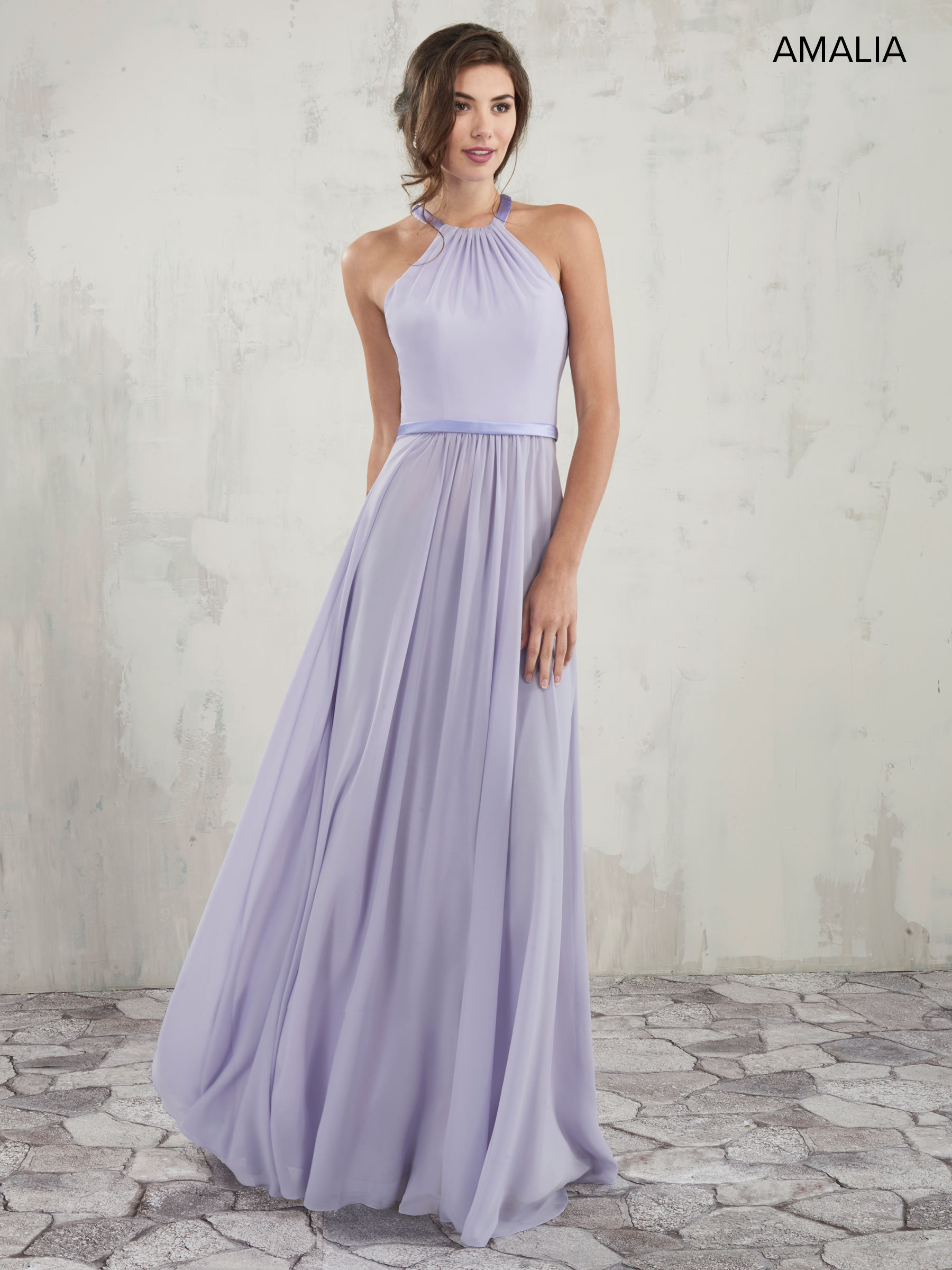 Amalia Bridesmaid Dresses Style Mb7014 In Canary