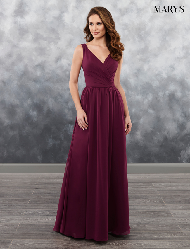 Color Amalia Bridesmaid Dresses - Style - MB7027