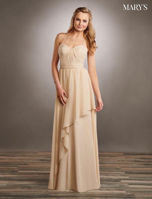 Pink Color Amalia Bridesmaid Dresses - Style - MB7056