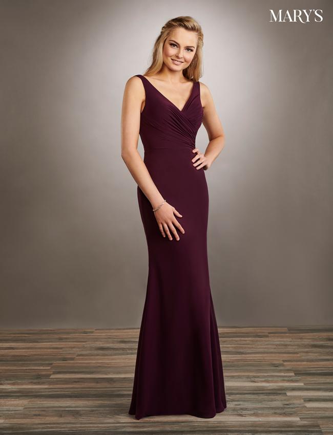 Color Amalia Bridesmaid Dresses - Style - MB7058