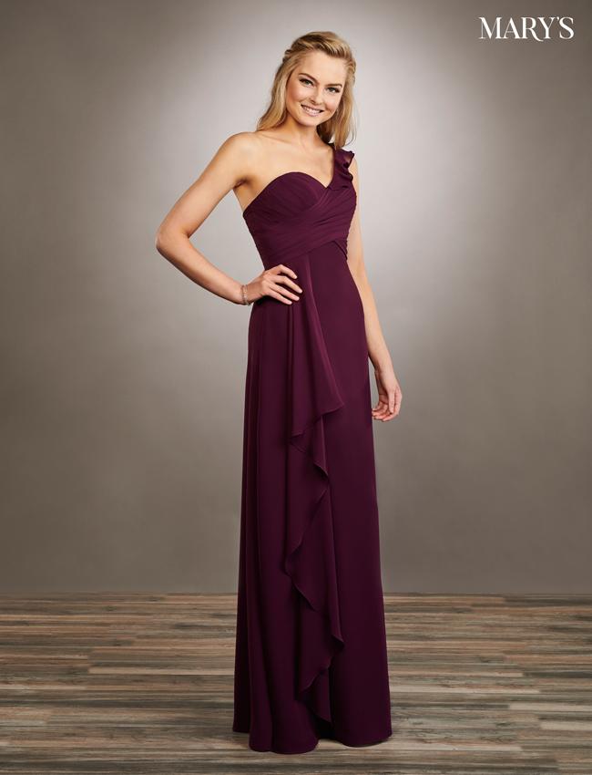 Pink Color Amalia Bridesmaid Dresses - Style - MB7059
