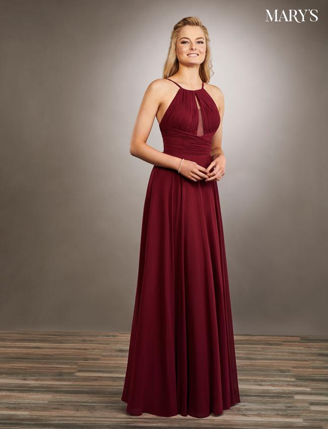 Pink Color Amalia Bridesmaid Dresses - Style - MB7060
