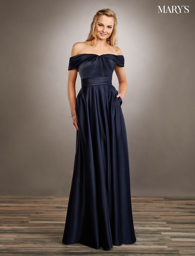 Color Amalia Bridesmaid Dresses - Style - MB7061