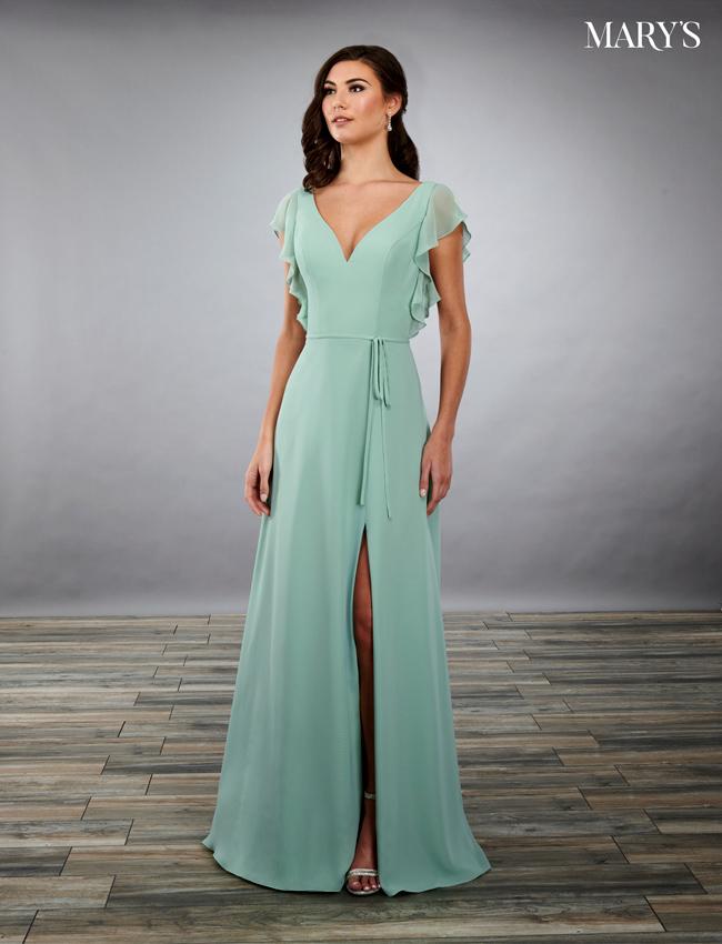 Black Color Amalia Bridesmaid Dresses - Style - MB7079