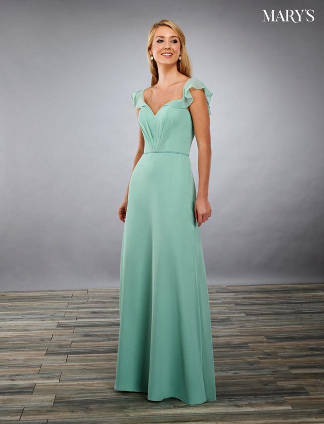 Black Color Amalia Bridesmaid Dresses - Style - MB7080