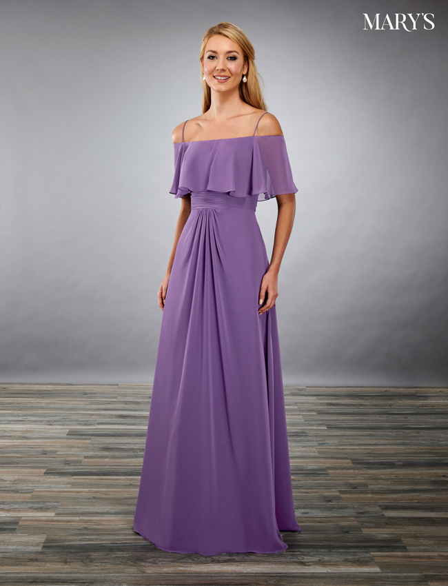 Black Color Amalia Bridesmaid Dresses - Style - MB7084