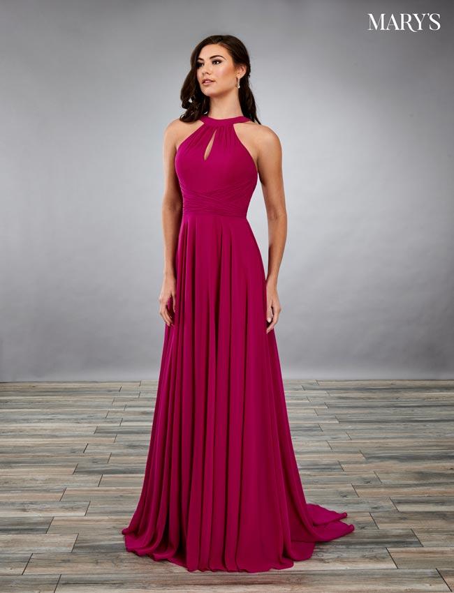 Black Color Amalia Bridesmaid Dresses - Style - MB7085