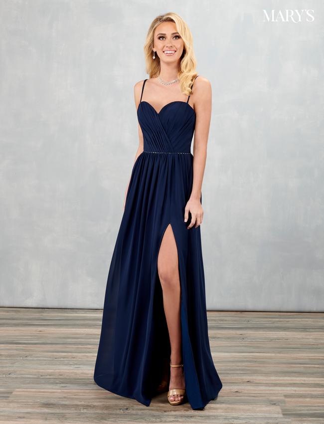 Black Color Amalia Bridesmaid Dresses - Style - MB7086