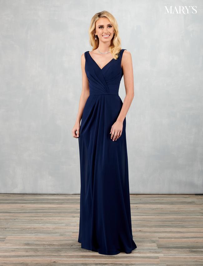 Black Color Amalia Bridesmaid Dresses - Style - MB7087