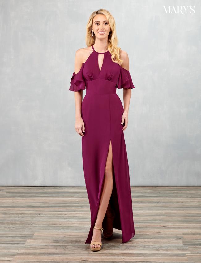 Black Color Amalia Bridesmaid Dresses - Style - MB7090