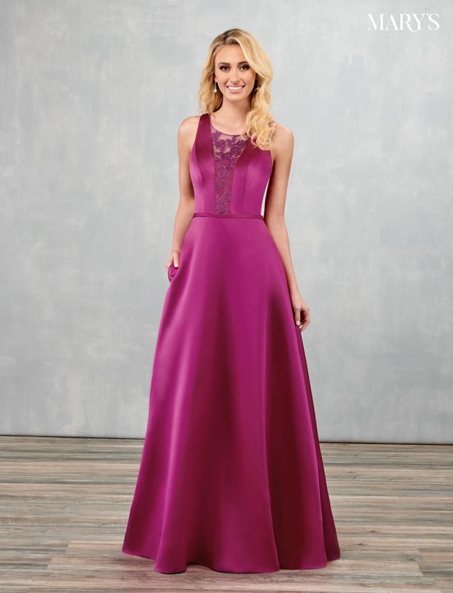 Black Color Amalia Bridesmaid Dresses - Style - MB7091