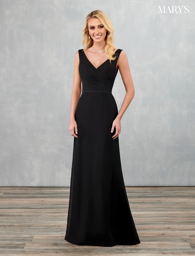 Black Color Amalia Bridesmaid Dresses - Style - MB7093