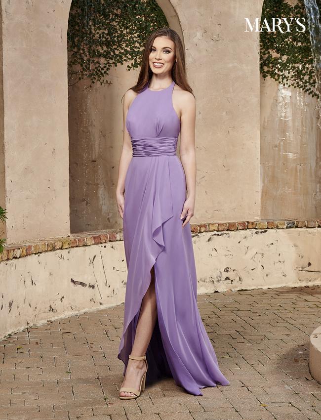 Black Color Amalia Bridesmaid Dresses - Style - MB7098