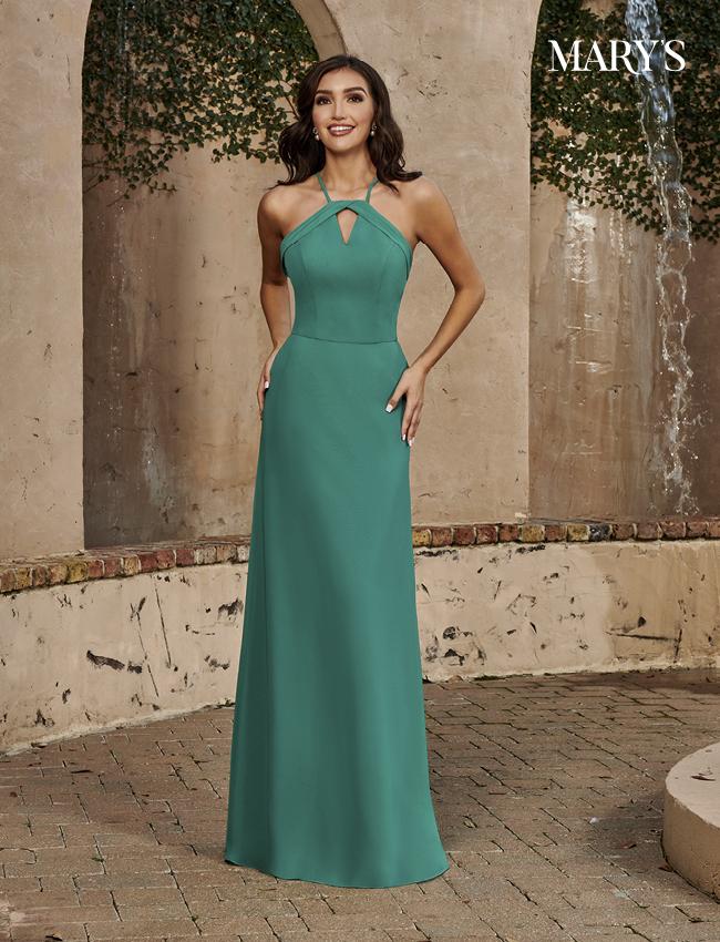 Black Color Amalia Bridesmaid Dresses - Style - MB7102