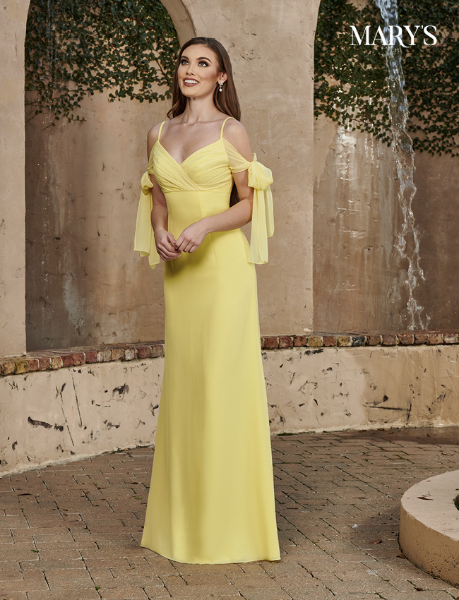 Black Color Amalia Bridesmaid Dresses - Style - MB7107