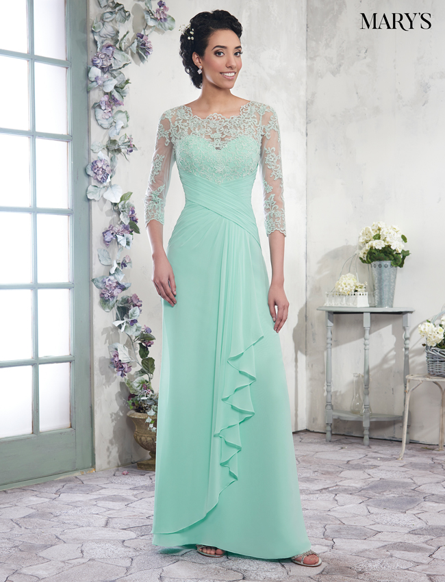 Color Mother Of The Bride Dresses - Style - MB8003