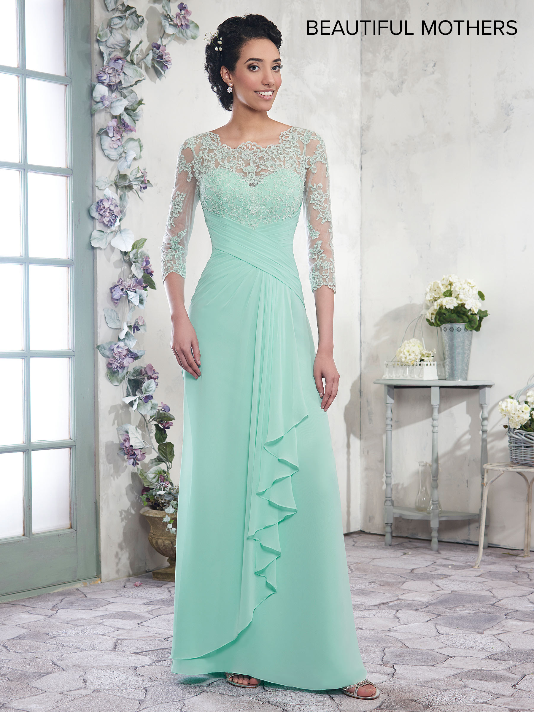 Mother Of The Bride Dresses | Style - MB8003 in Shown in Seafoam ...