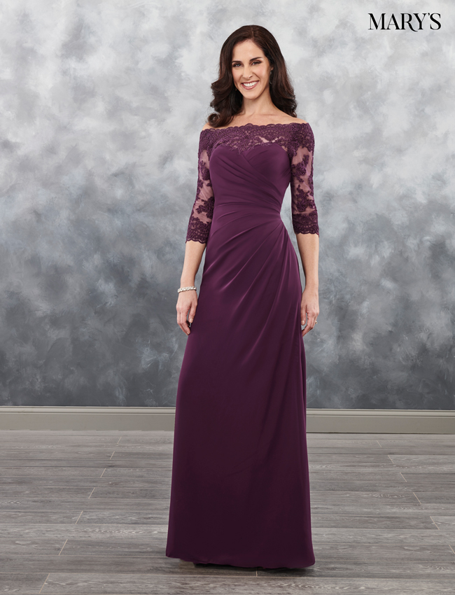 Color Mother Of The Bride Dresses - Style - MB8025