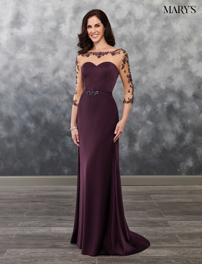 Black Color Mother Of The Bride Dresses - Style - MB8026