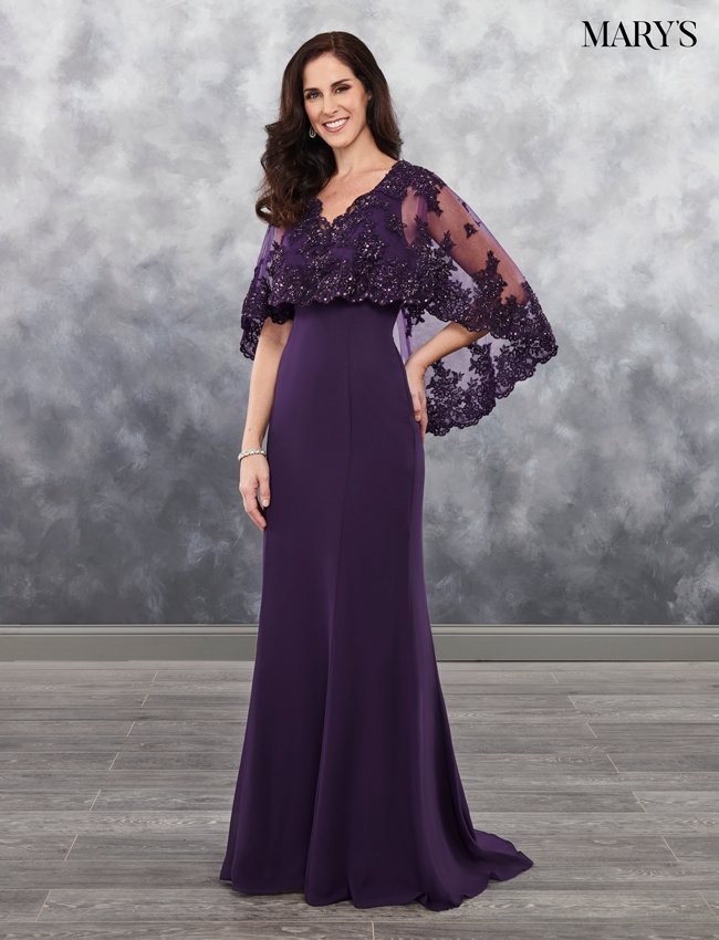 Black Color Mother Of The Bride Dresses - Style - MB8027