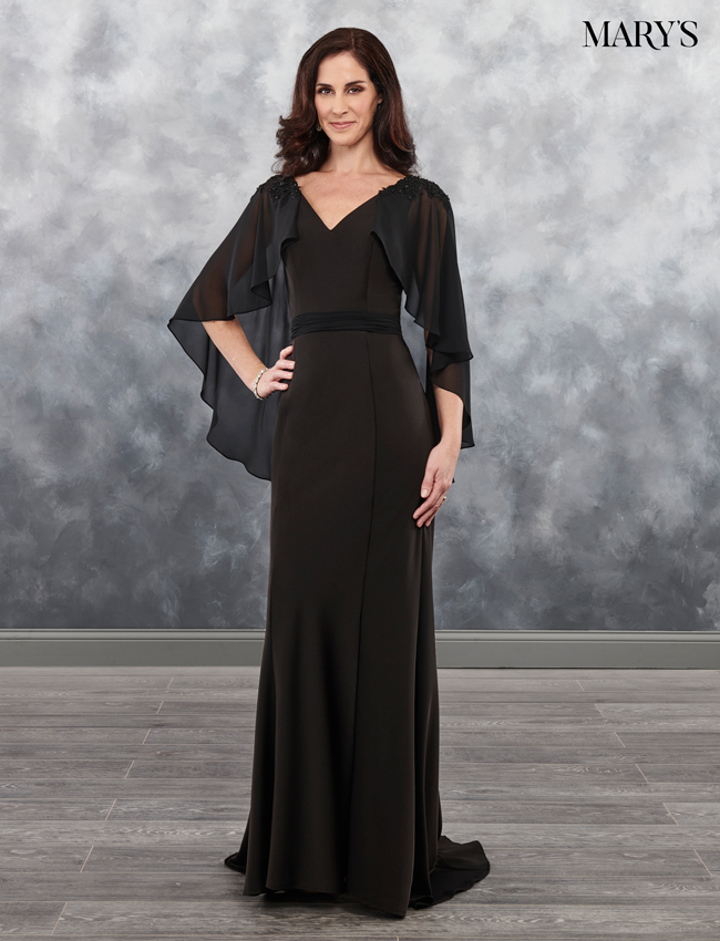 Black Color Mother Of The Bride Dresses - Style - MB8033