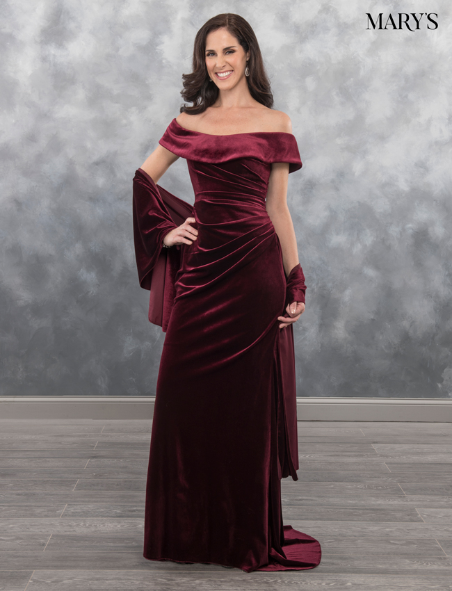 Black Color Mother Of The Bride Dresses - Style - MB8036