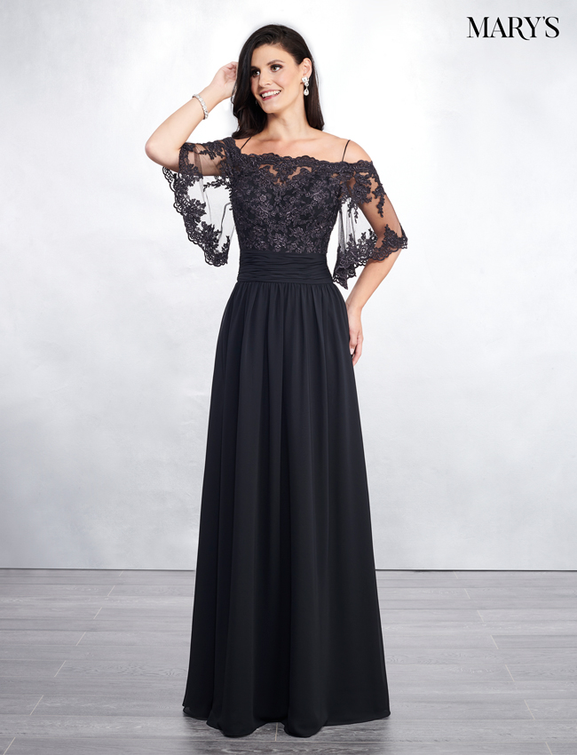 a03e97a0c3 Black Color Mother Of The Bride Dresses - Style - MB8055