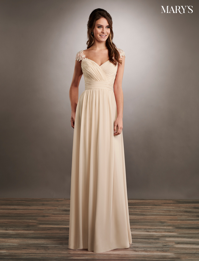 Dusty Pink Color Mother Of The Bride Dresses - Style - MB8059