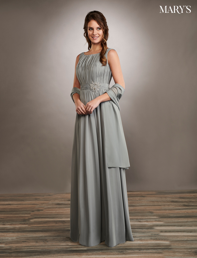 Dusty Pink Color Mother Of The Bride Dresses - Style - MB8064
