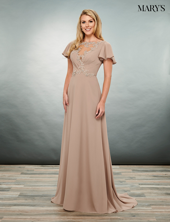 Black Color Mother Of The Bride Dresses - Style - MB8071