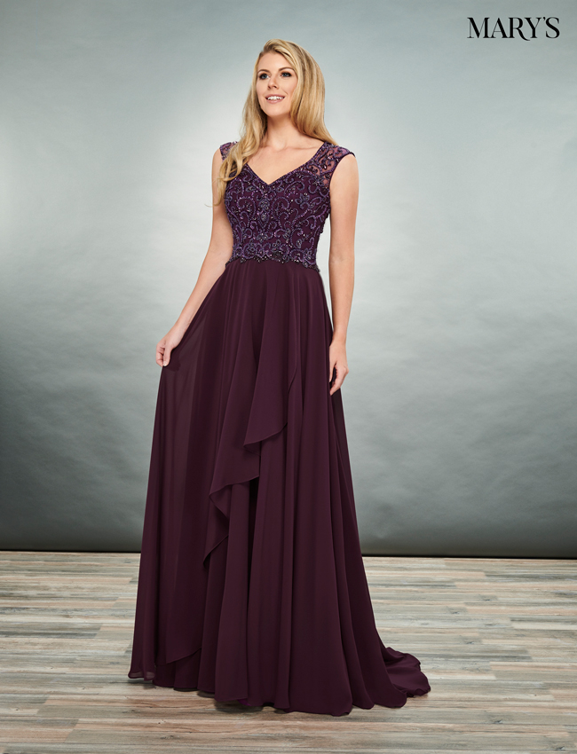 Black Color Mother Of The Bride Dresses - Style - MB8075
