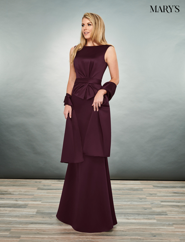 Black Color Mother Of The Bride Dresses - Style - MB8076