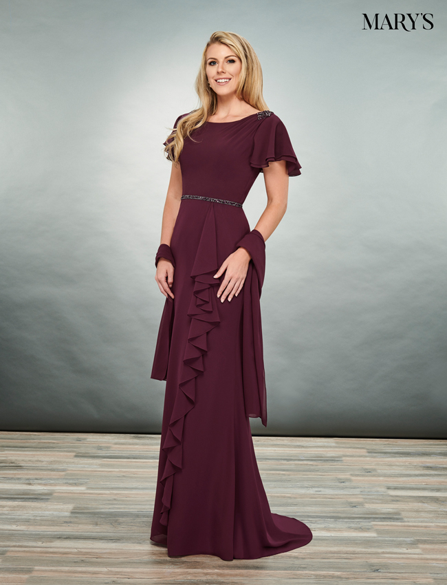 Black Color Mother Of The Bride Dresses - Style - MB8077