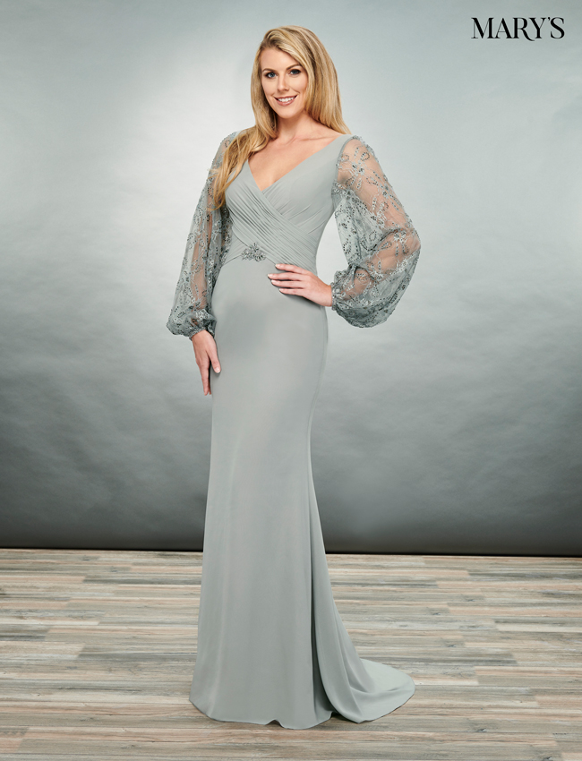 Black Color Mother Of The Bride Dresses - Style - MB8082