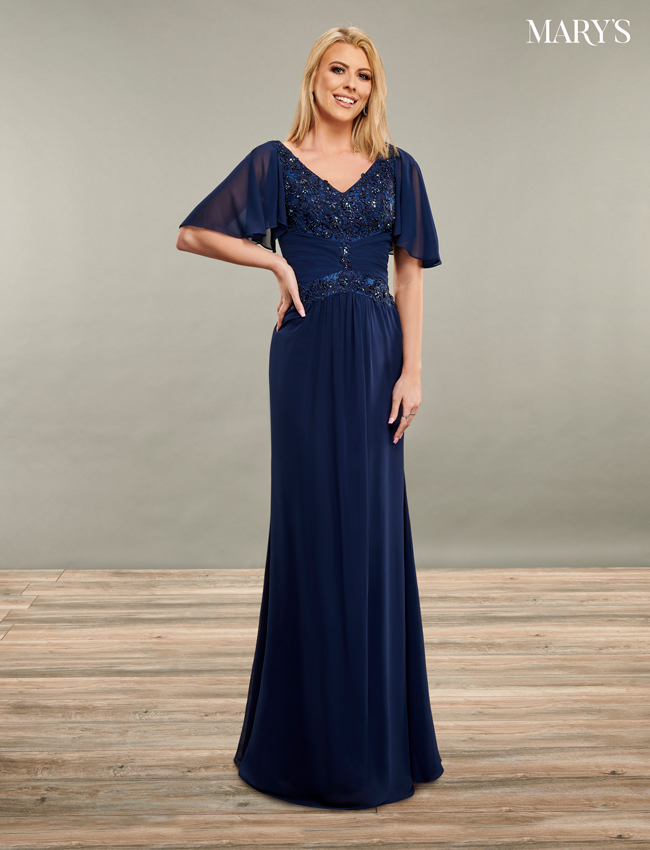 Black Color Mother Of The Bride Dresses - Style - MB8084