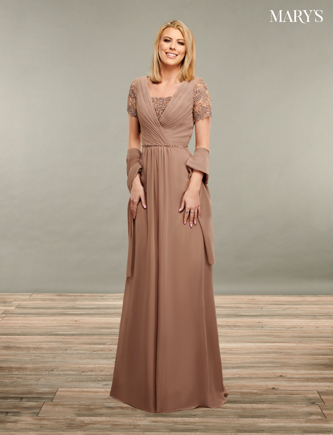 Black Color Mother Of The Bride Dresses - Style - MB8085