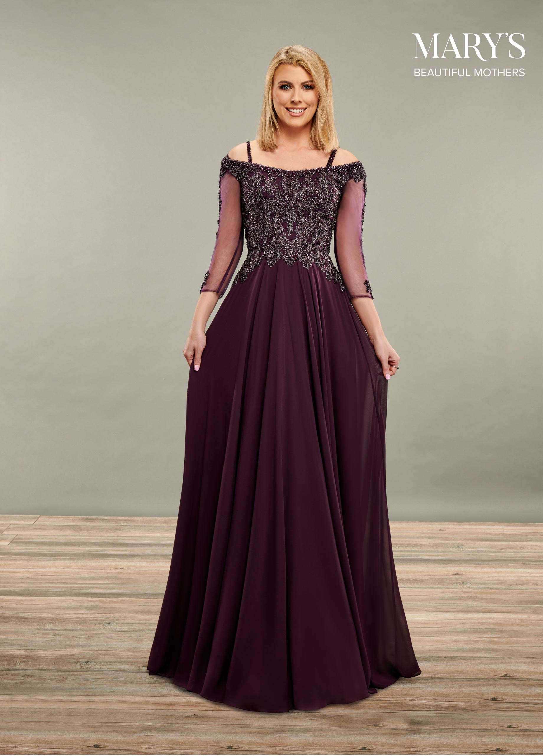 Mother Of The Bride Dresses | Beautiful Mothers | Style - MB8086