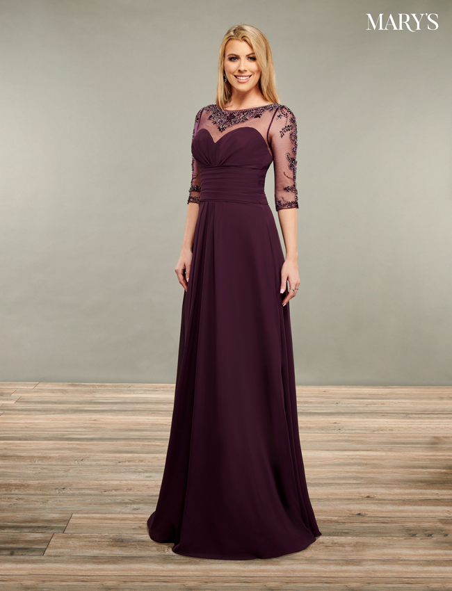 Black Color Mother Of The Bride Dresses - Style - MB8089